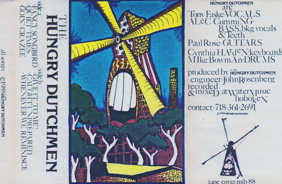 The Hungry Dutchmen: S/T, 6 songs, 1988