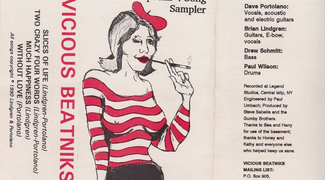 Vicious Beatniks: Special Four Song Sampler, 1990: Outside