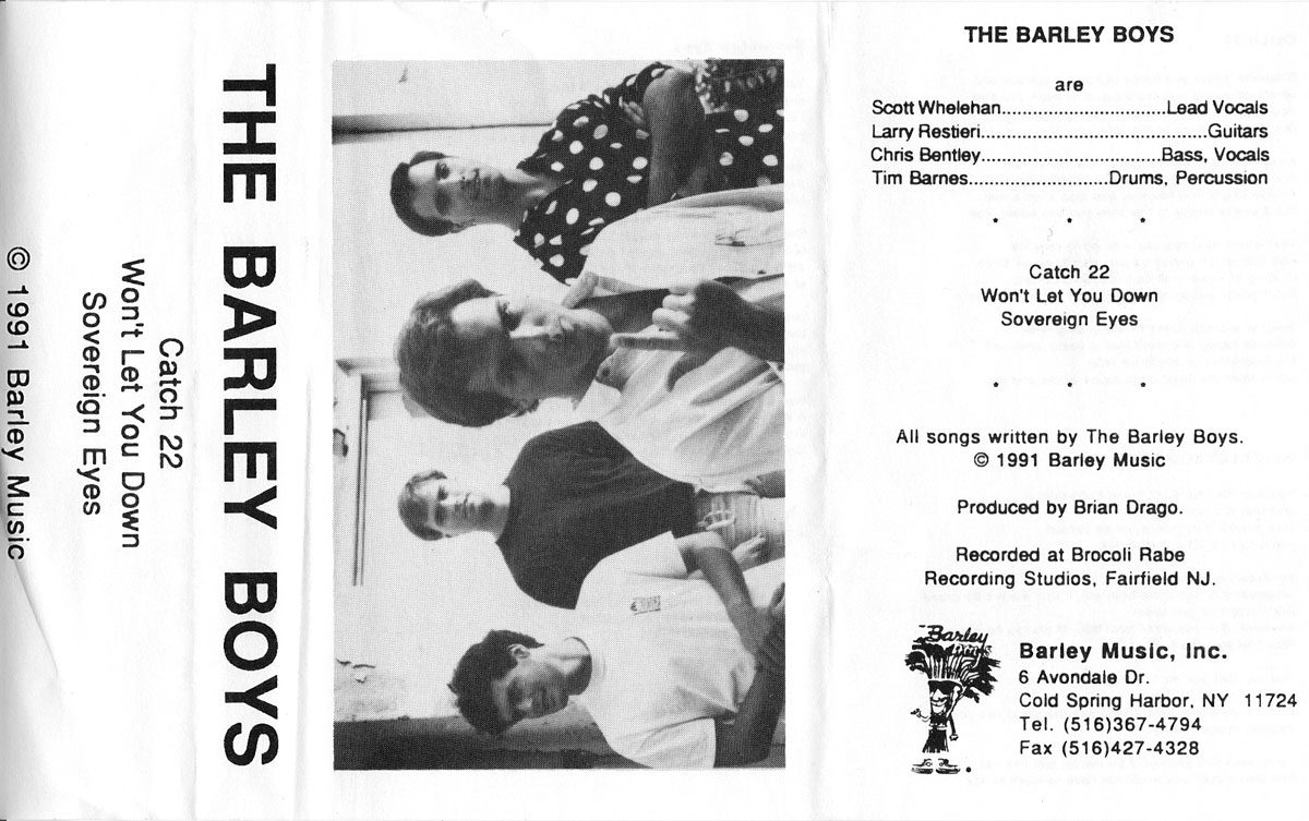 The Barley Boys: 3 songs, 1991