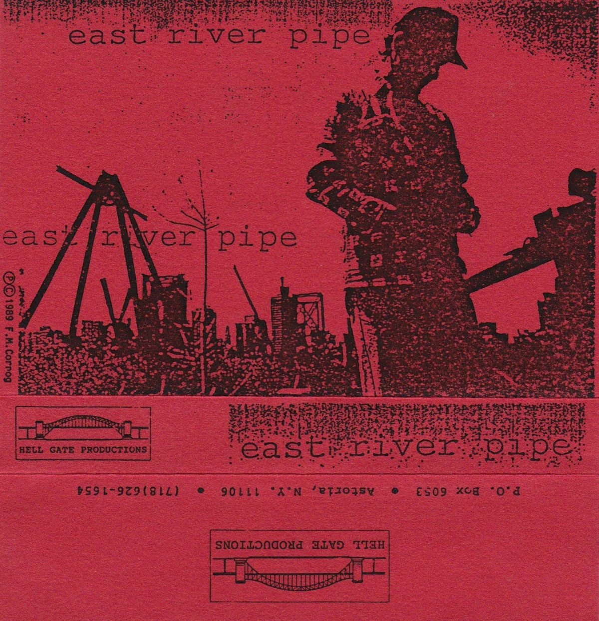 East River Pipe: 3 songs, 1989