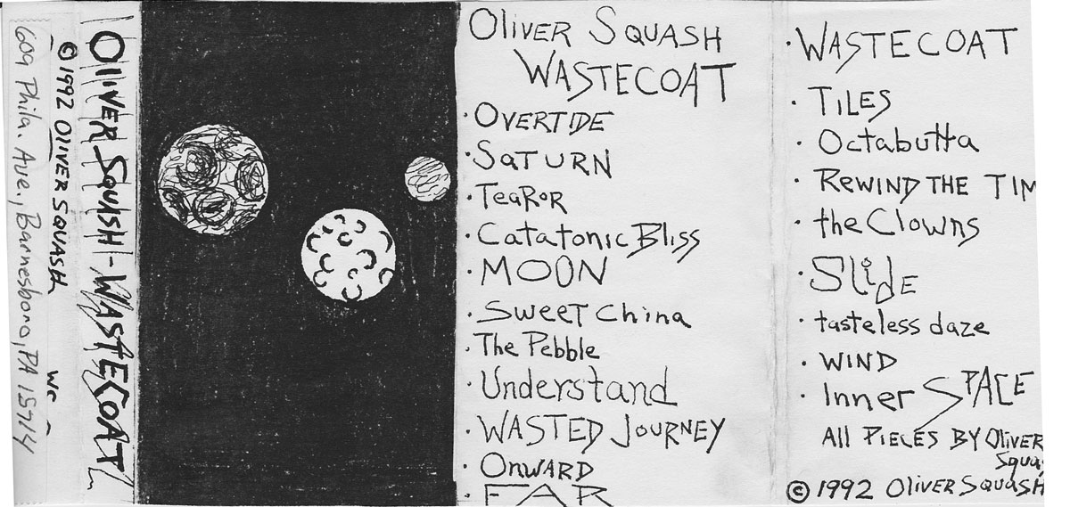 Oliver Squash: Wastecoat,1992