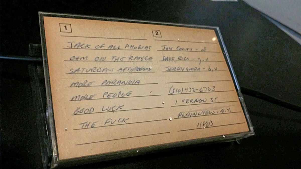 Phantom Tollbooth: Seven song demo, 1985. cover