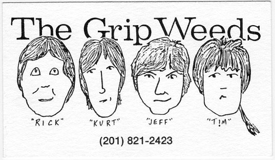 The Grip Weeds Business Card