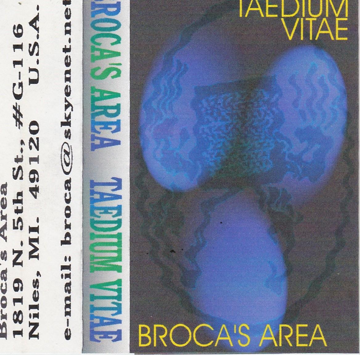 Brocas Area, Taedium Vitae, 1997