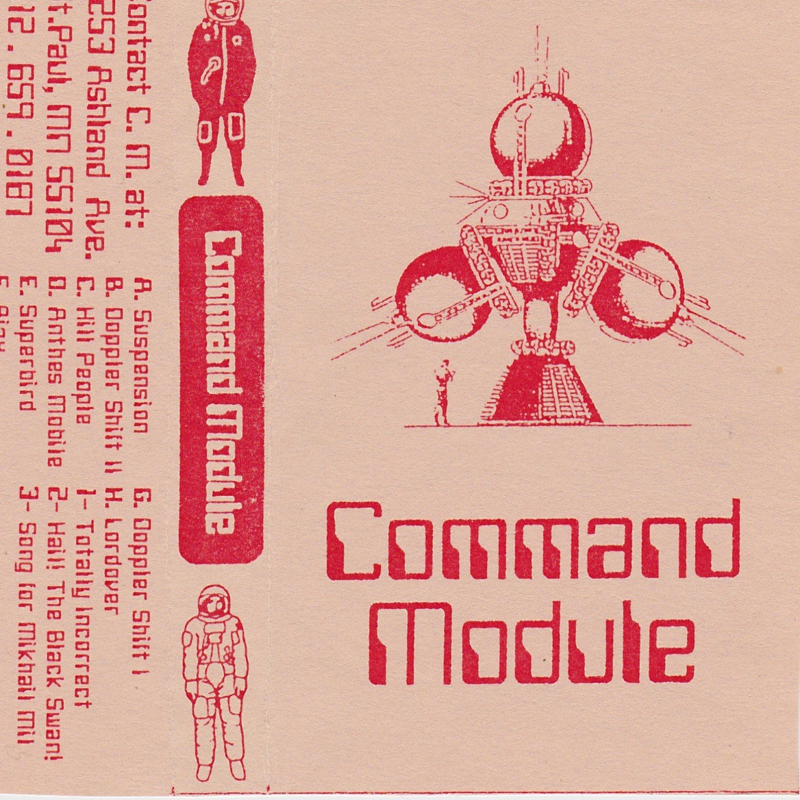 Command Module: Self Titled, 1995