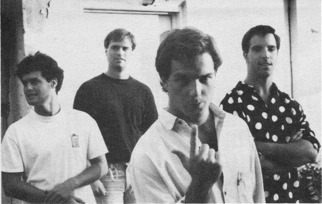 The Barley Boys, with Tim Barnes, left