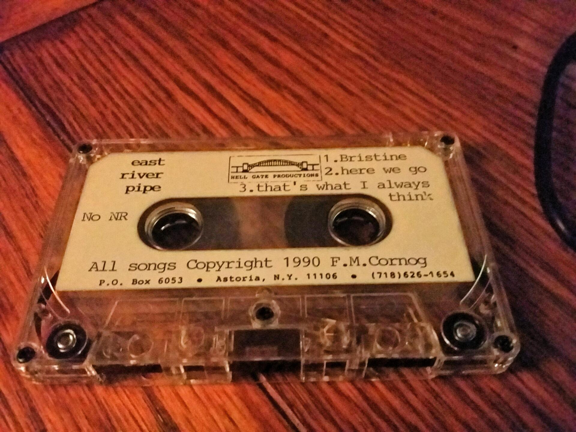 East River Pipe: 3 songs, 1990