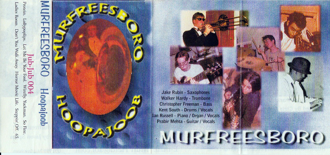 Murfreesboro: Hoopajoob, 1998, outside cover
