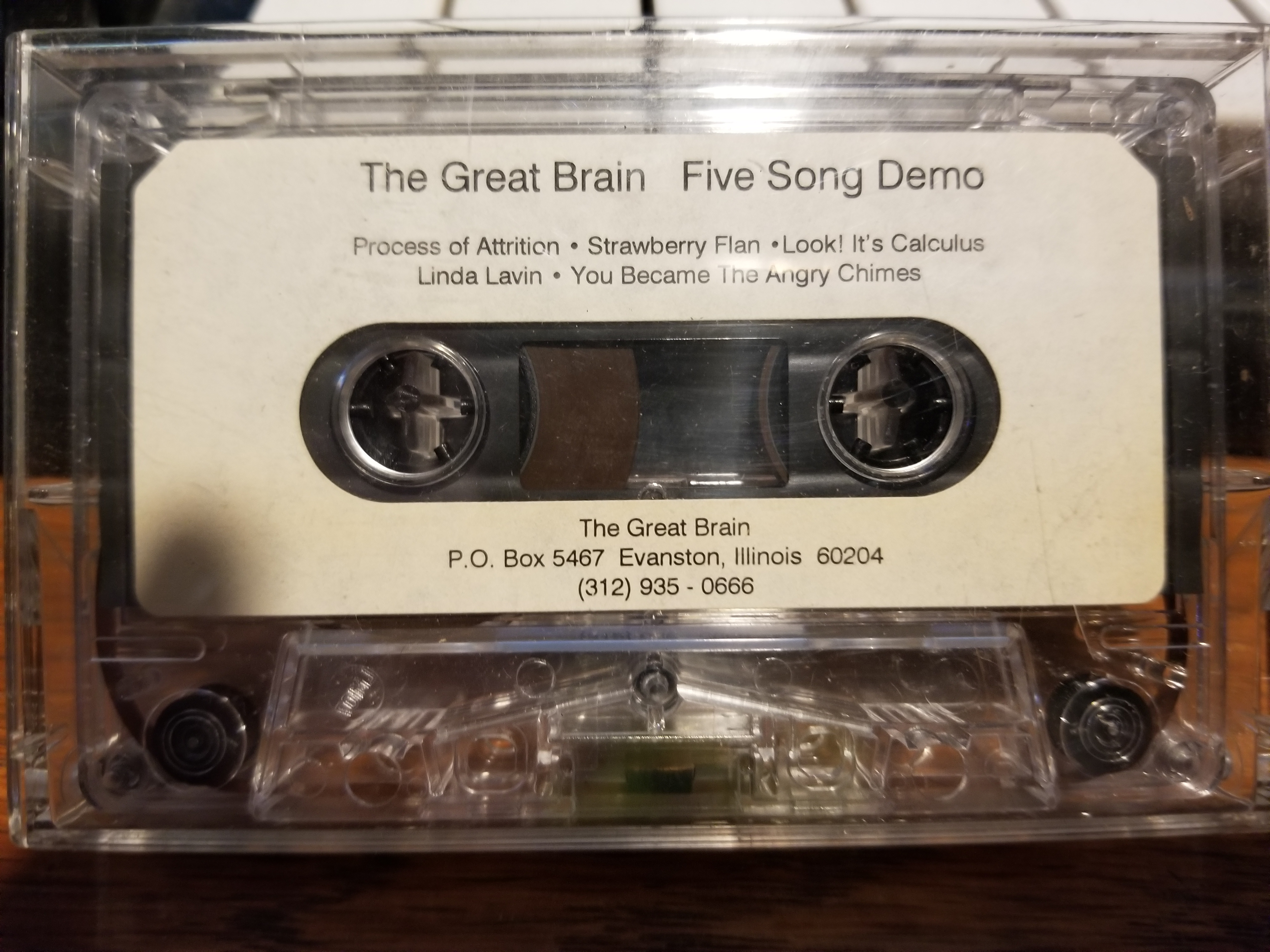 The Great Brain: Five Song Demo, ca 1997