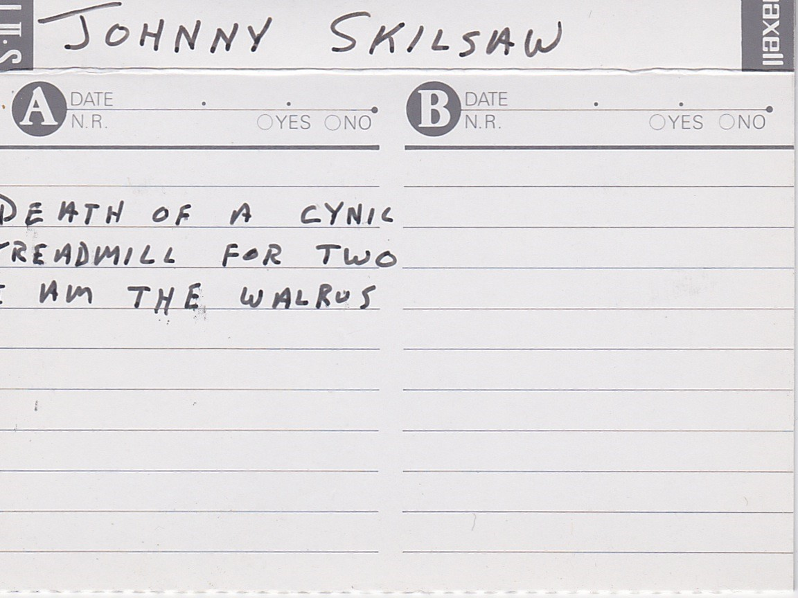 Johnny Skilsaw: 3 Songs, ca 1996