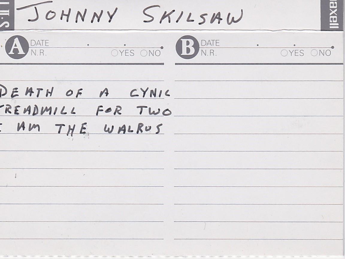 Johnny Skilsaw: 3 Songs, ca 1996